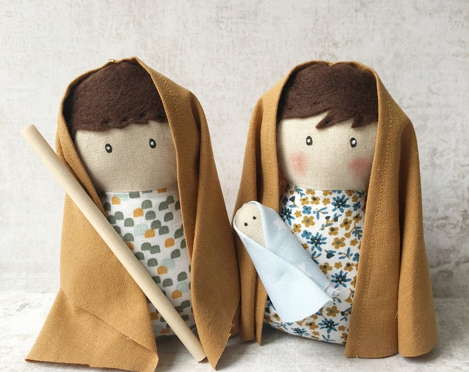 Cloth Bethlehem Portal, Birth of Christmas
