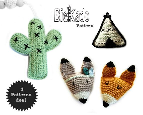 Combi Deal Cactus En Vos Haakpatroon Incl Gratis Patroon Etsy