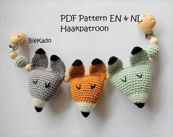 Crochet pattern fox