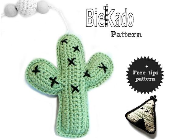Haakpatroon Cactus Gratis Patroon Tipi Nl En Etsy