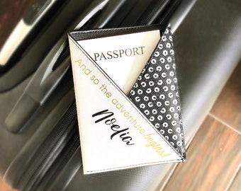Personalized Passport Holder / Passport Cover