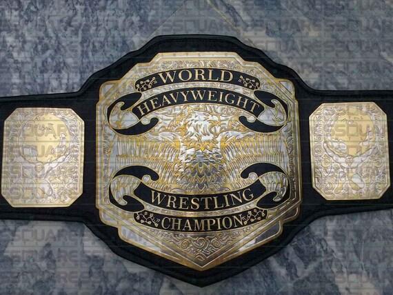 04958678b84e RÉPLIQUE World Heavyweight Championship titre ceinture des   Etsy