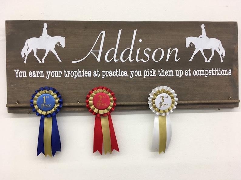 Horse Ribbon Display/Horse Award Display/Award Ribbon image 0