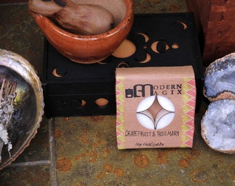 Fresh Scented Soy Tealights 4 pack   Dye Free   Limited Edition   Witchy Samhain Tealights