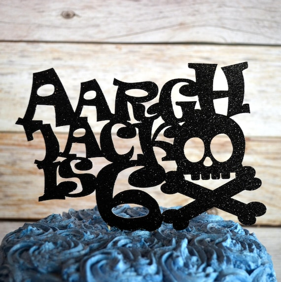 Pirate Party Arrrr Cake Topper Table Decoration Centerpiece Etsy Cool Masquerade Ball Table Decorations