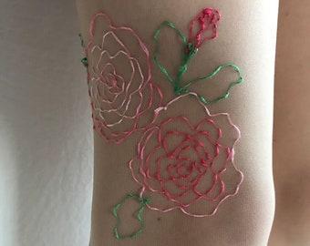 Rose Stockings