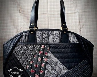 Patchwork Bag & Patchwork Wallet