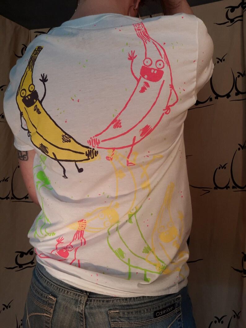 Wilhelm the Talking Banana allover-print Tshirt image 0