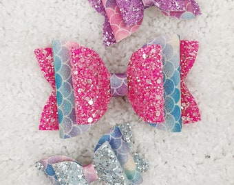 Pastel Mermaid Bow Collection