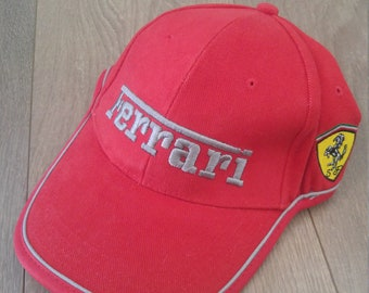 2272f64e893 Vintage 1996 Ferrari strap back hat. With tags! Old stock. Official  licensed product.