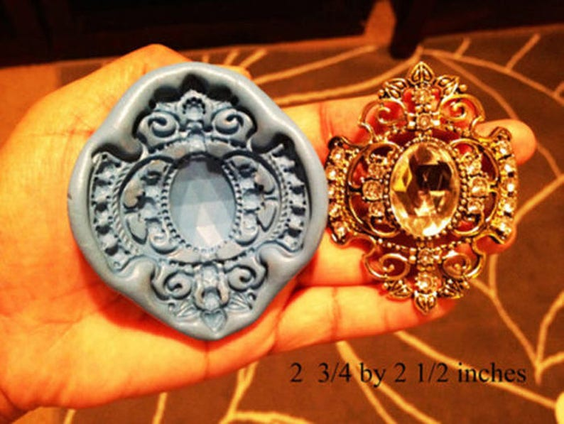Sugarcraft Molds Polymer Clay Cake Border Mold Soap Molds Resin Candy Chocolate Cake Decorating Tools brooch mold 77655
