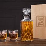 Boyfriend Gift - Personalized Whiskey Decanter Set - Gifts for Boyfriend