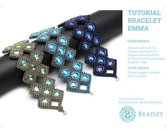 Beading Tutorial Bracelet Emma (English) PDF file