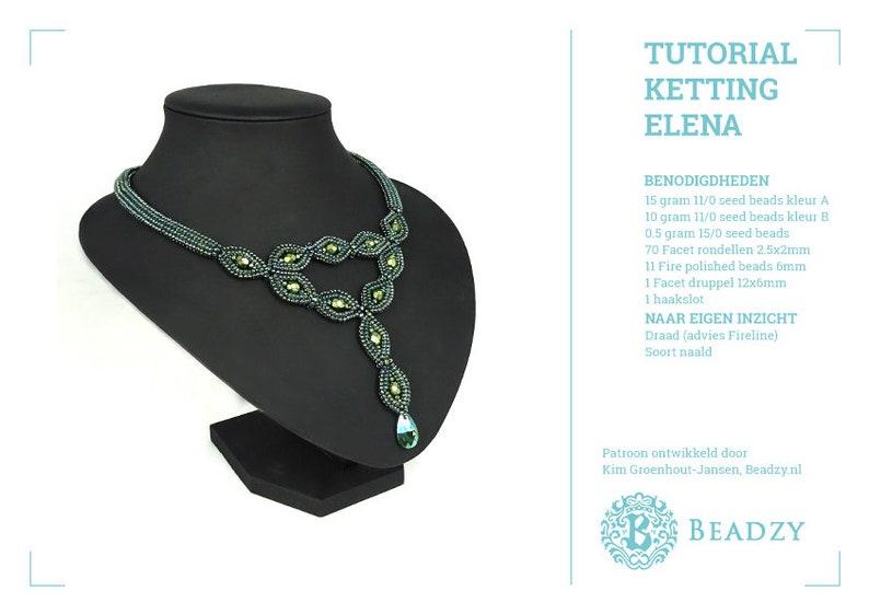 Tutorial Necklace Elena (Nederlands/Dutch) PDF file