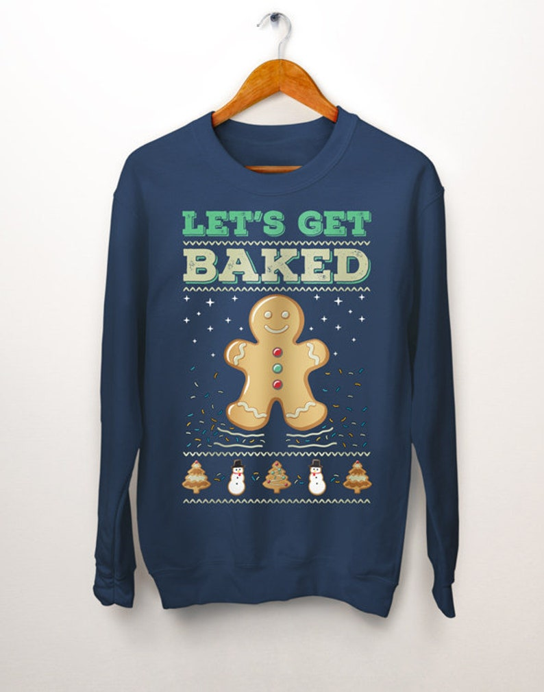 b82b24c5e27102 Funny Christmas Sweaters. Ugly Christmas Sweater. Lets Get