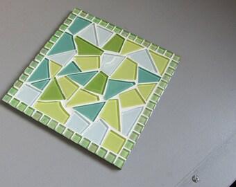 Sottopentola piastrella mosaico etsy