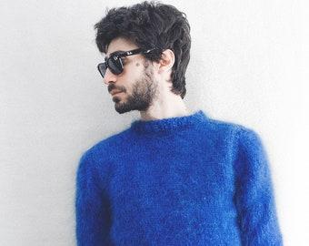 Stylish men's mohair sweaters