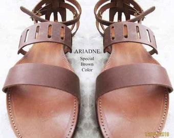 3c21ff3d50d7 Greek gladiator sandals