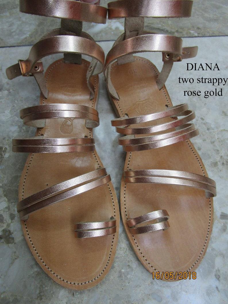 Wedding sandals Sandals Leather sandals Gold sandals Leather sandals women Greek sandals Sandales grecques DIANA