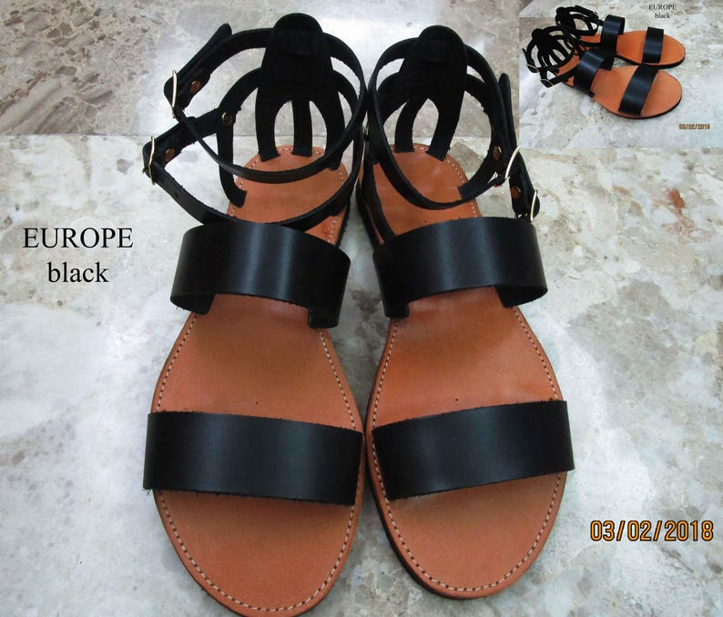 63391cac6 Gladiator sandals women Lace up sandals Spartan sandals Greek   Etsy