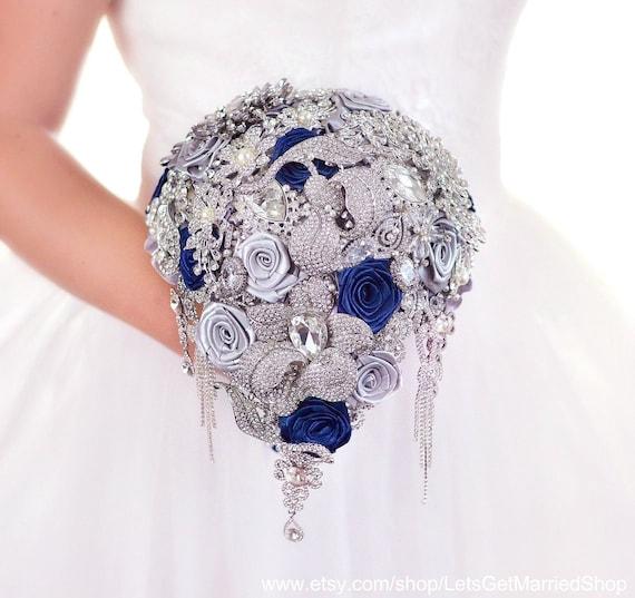 Boucles d/'Oreilles Clous Camée Bleu Gros Moderne Rétro Style Mariage Cadeau XX 1