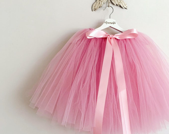 Girls tutu, tutu skirt, flowergirl tutu, bridesmaid tutu, wedding tutu, birthday tutu, cakesmash tutu