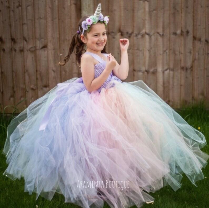 a69143820de4 Unicorn tutu dress unicorn tutu unicorn party dress fairy | Etsy