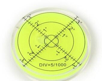 Spirit level SMALL TINY rectangular miniature 40mm bulls eye vial clockmakers