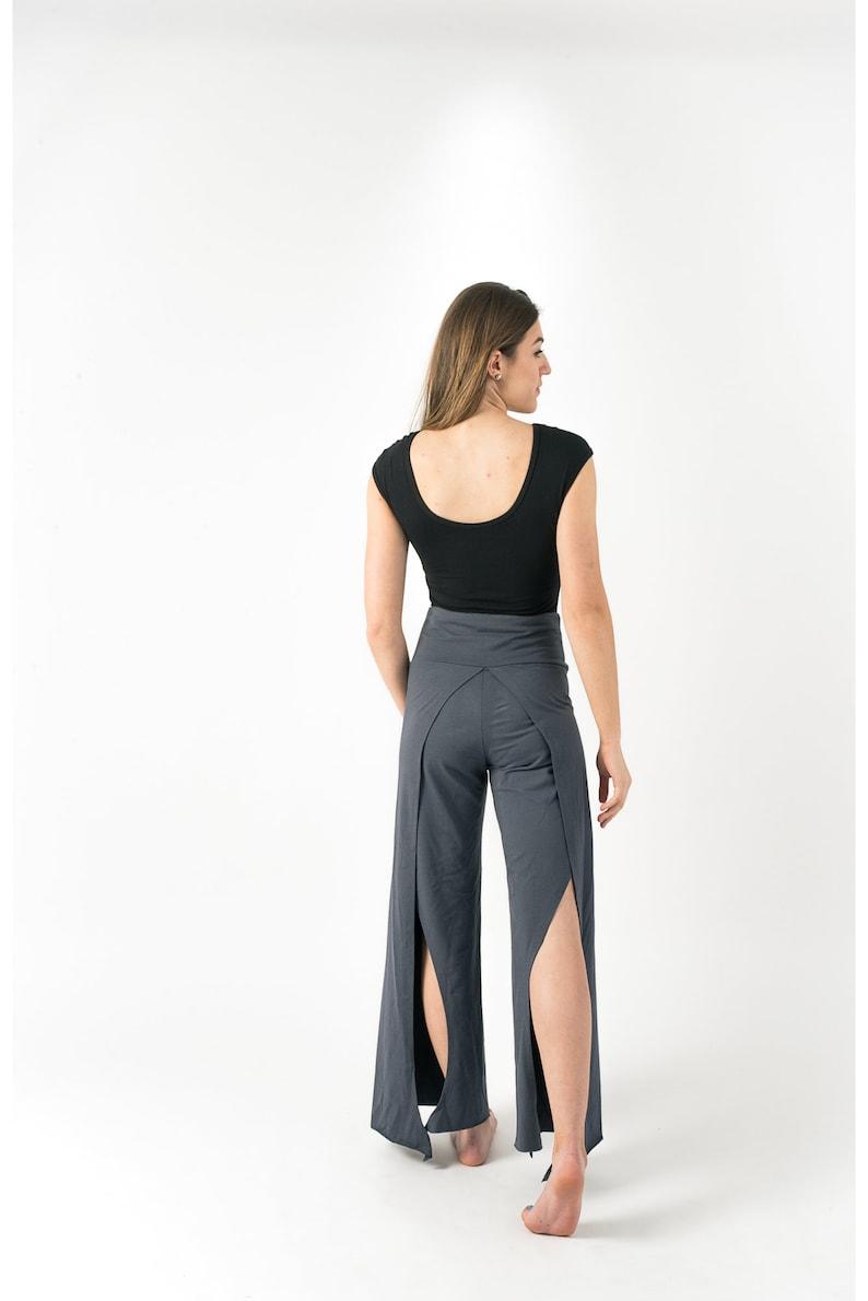 Gypsy Pants Wide Comfy Pants Boho Pants Casual Trousers Long Loose Pants Women Black Pants Jersey Cotton Pants Hippie Clothes