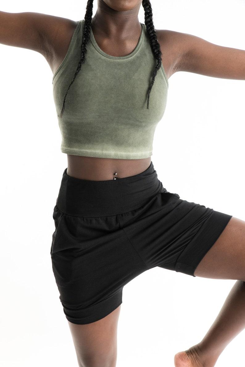 4f3583fbfc Iyengar Shorts Yoga Pants Yoga Shorts Pune Shorts | Etsy