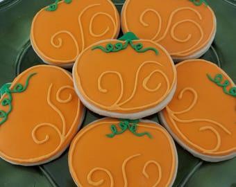 Pumpkin Harvest Sugar Cookies