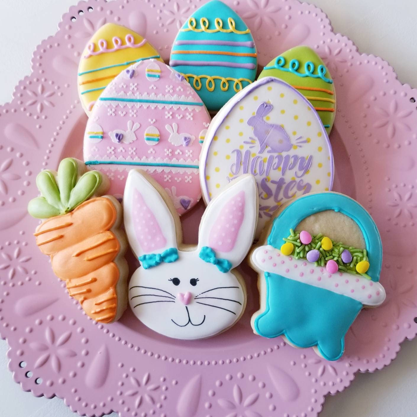 Easter Cookies | Easter Basket Cookies | Easter Bunny ...
