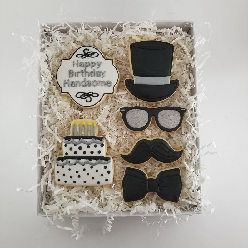 Birthday Cookie Gift Set For Him Husband