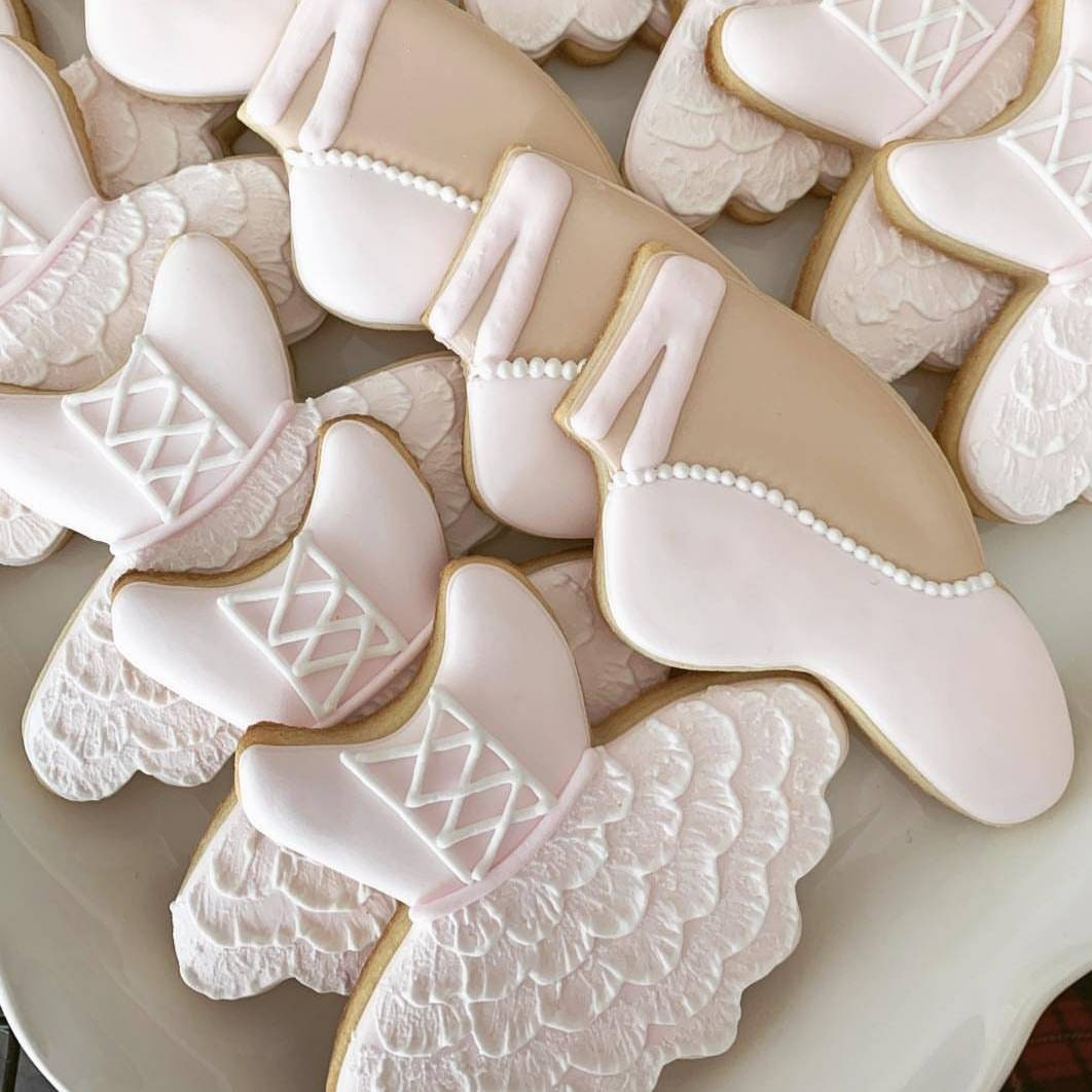 Ballet Cookies Ballerina Cookies Pointe Shoes Slipper Tutu