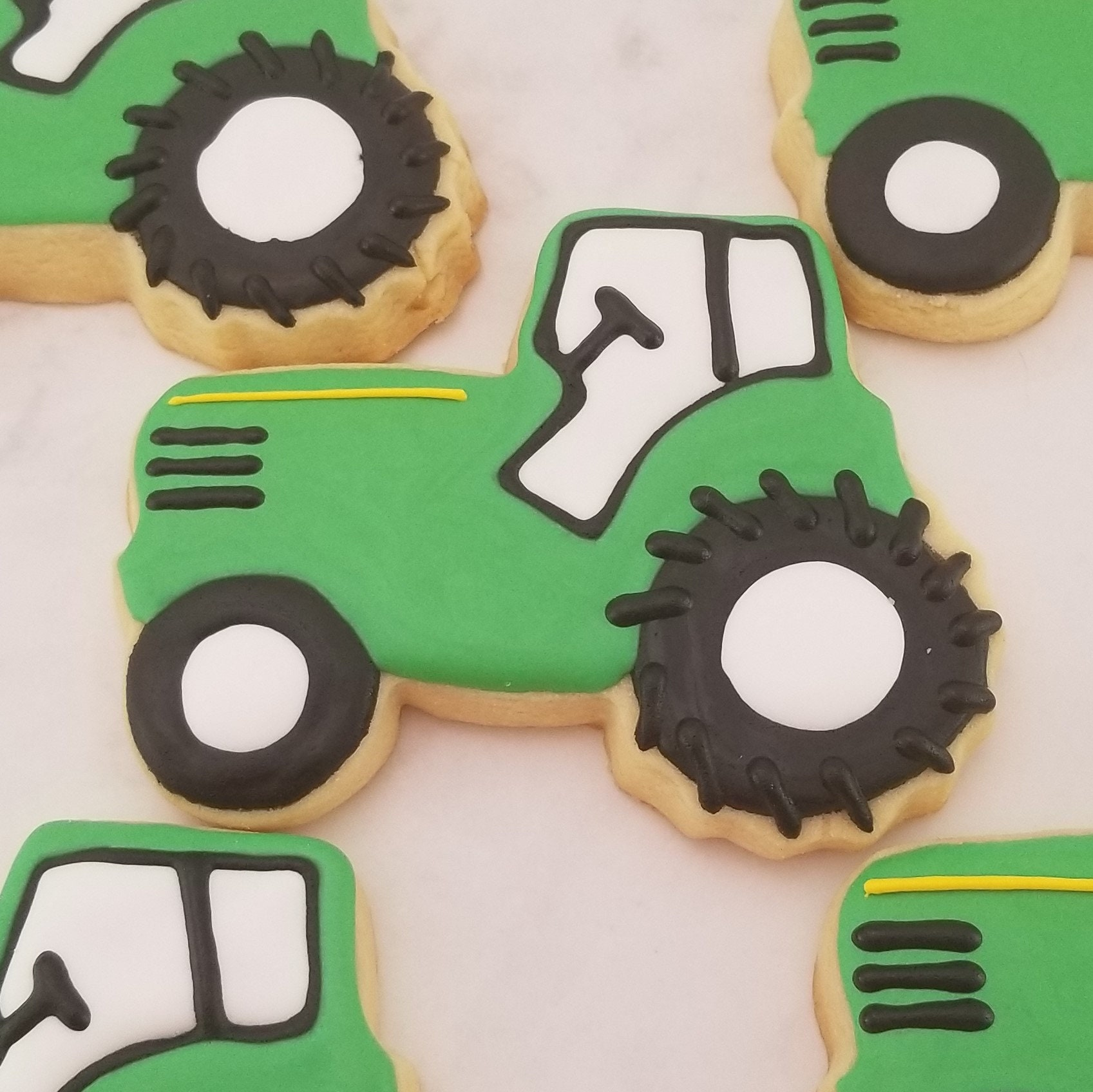 Tractor Cookies Farm Party Cookies Old Macdonald Birthday