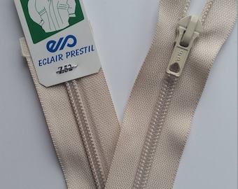 Linen separable zipper