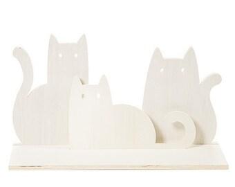 SALE Small Glass CityCatLead GlassAvon CollectableCrazy Cat LayFeline