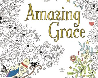 Amazing Grace Coloring Book