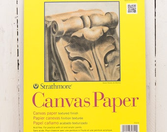 Strathmore 300 Series Canvas Pad – 9×12″
