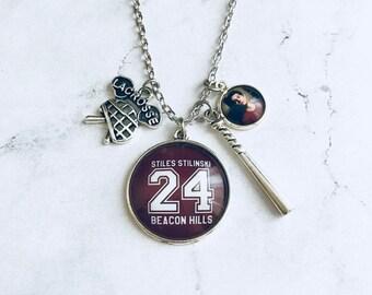 Teen Wolf, Stiles Stilinski jewelry, teen wolf necklace