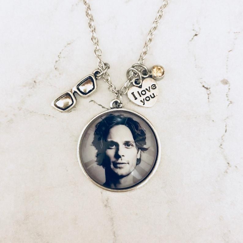 Matthew Gray Gubler necklace, Spencer Reid necklace