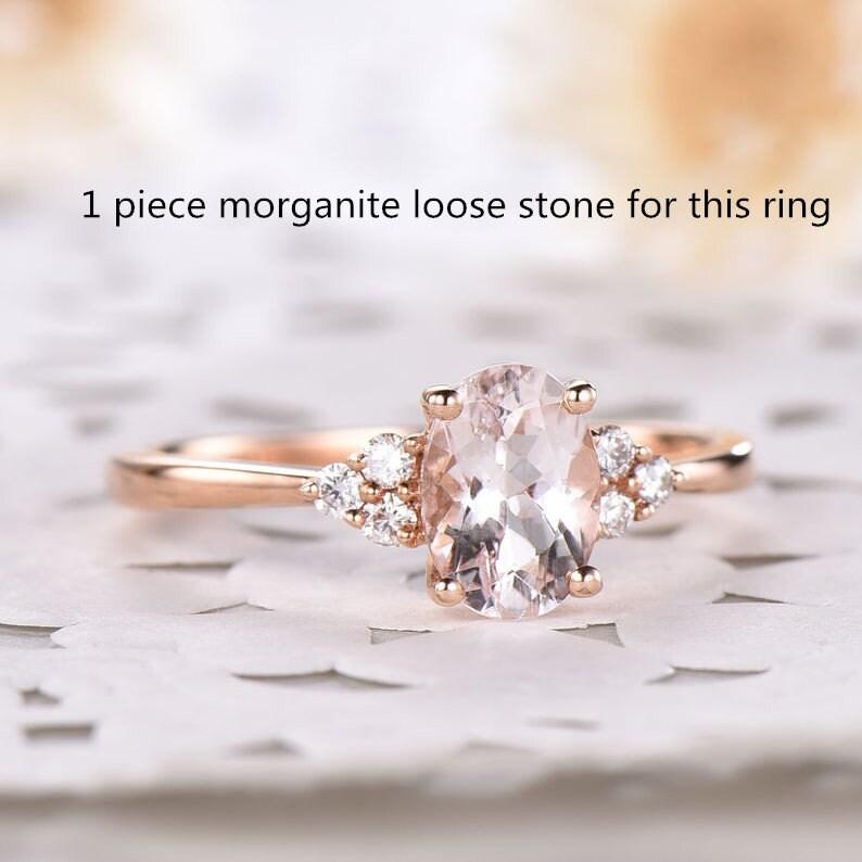 1 piece of morganite stone image 0