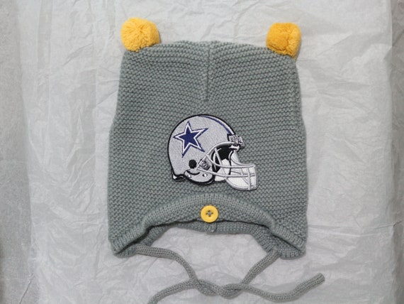 a18c6b748ba11 ... norway dallas cowboys baby knit hat with embroidered logo etsy 0fd6f  60eec