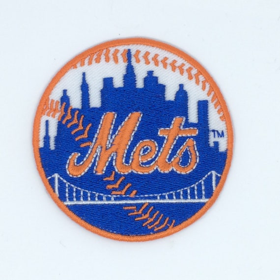 New York Mets embroidered patches iron  or sew on