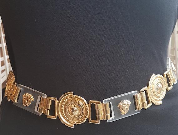 1980's Vintage Chaine Belt