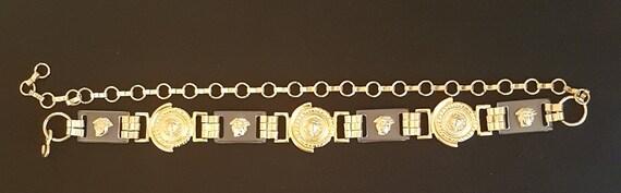Vintage 1980's chain belt