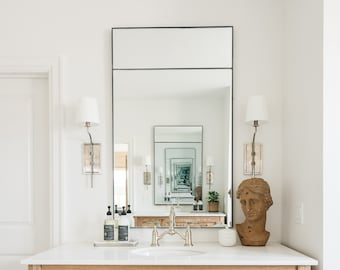 Metal Framed Mirror Etsy