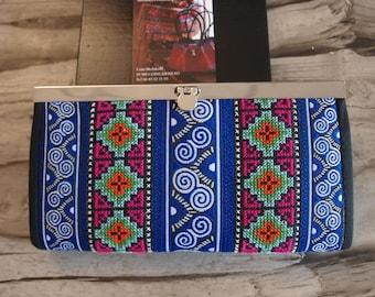 Portfolio Hmong embroidery blue 20 x 12