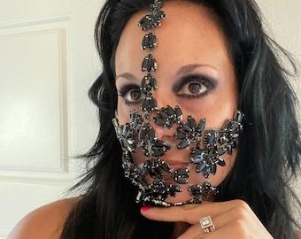 Black Crystal Mask