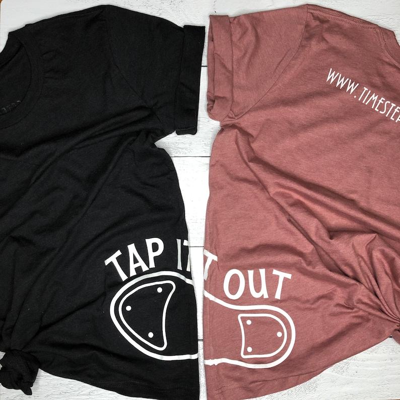Tap It Out T-Shirt Mauve